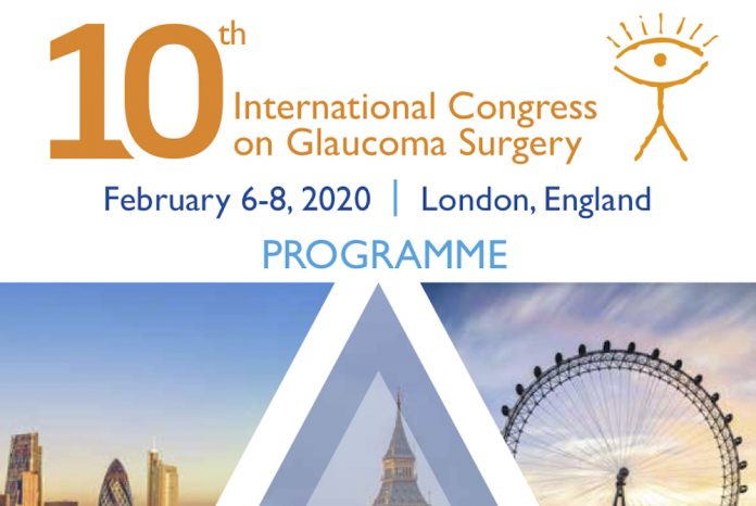 10th international congress on glaucoma surgery featured image