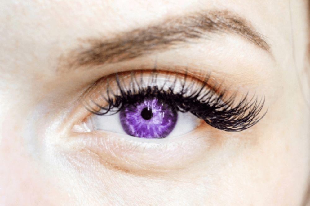 totoo ba ang purple na mata