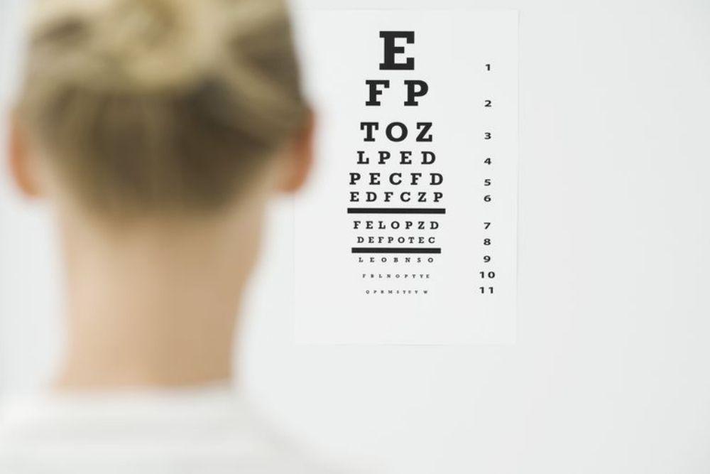 process of a comprehensive eye exam