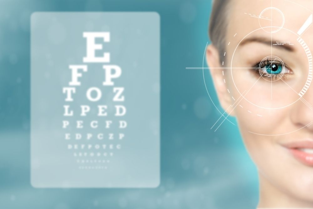 eye exam for contact lens