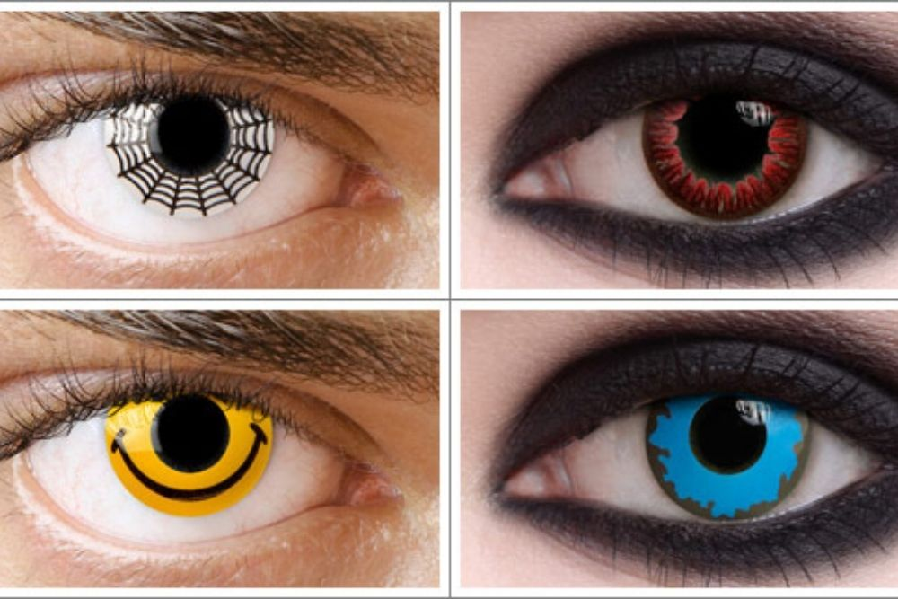special effects of contact lenses
