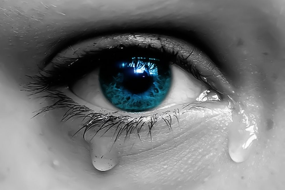 how the eye functions when we cry