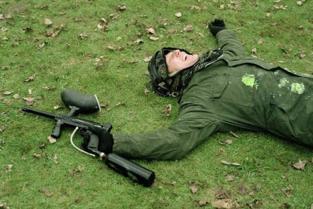 eye protection to use with paintball guns