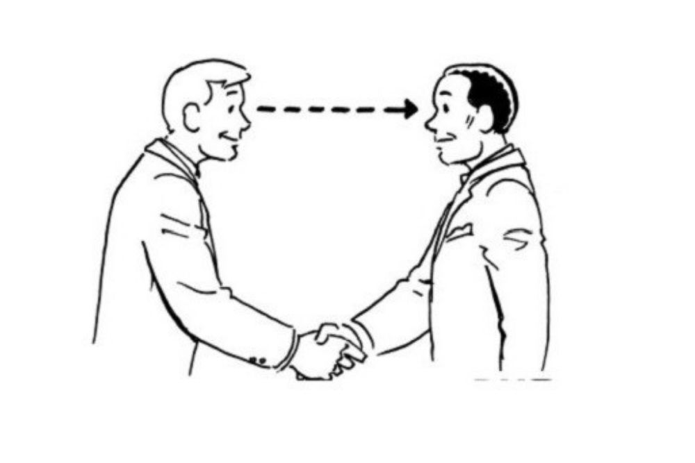 why is eye contact important in conversations