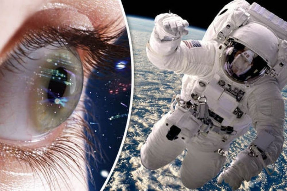 do long space flights have an impact to the eyes of astronauts