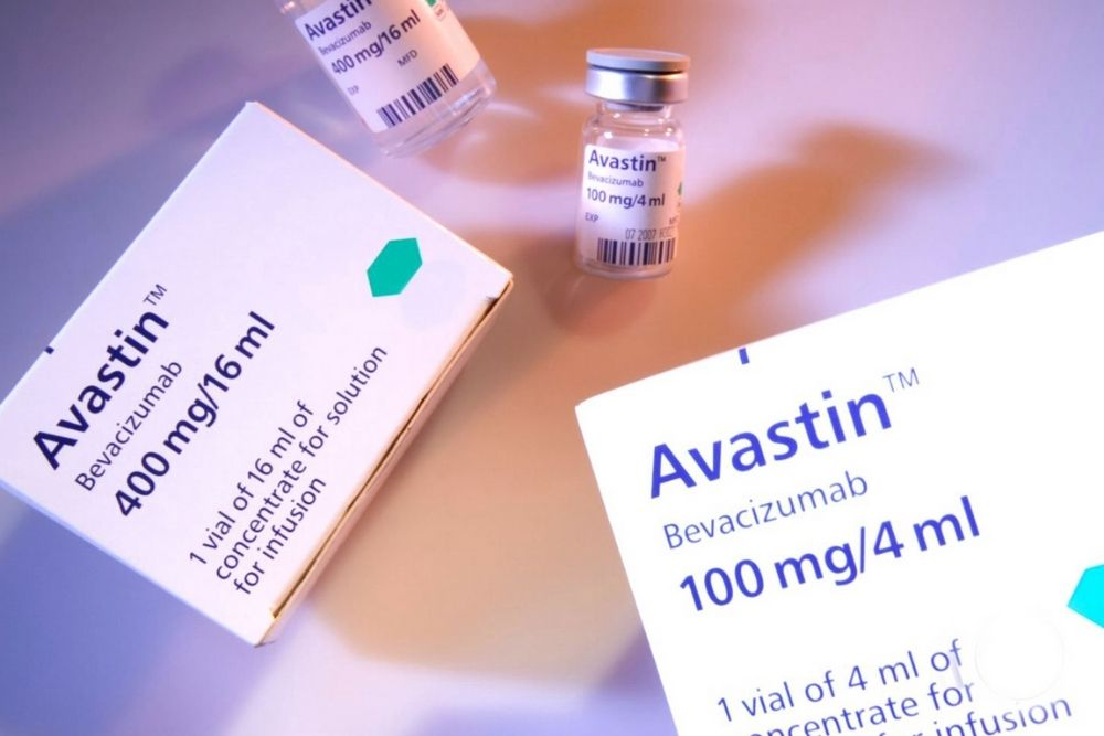 how does avastin affect the eyes