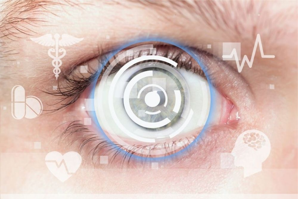 smart contact lens for glaucoma patients