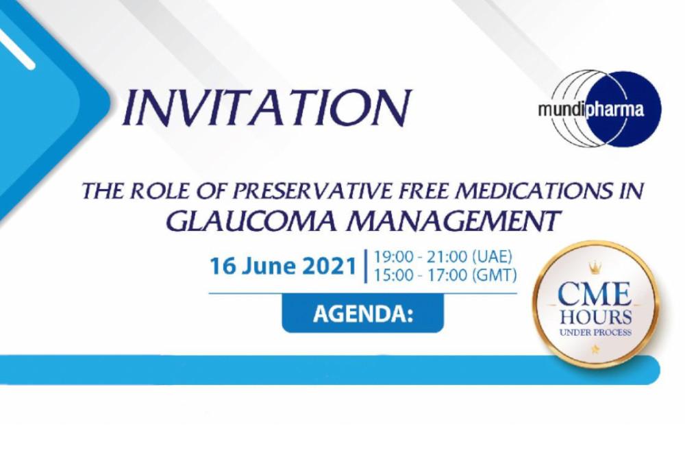 Mundipharma Glaucoma Management 2021