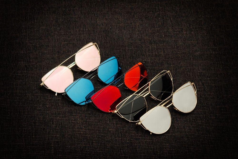different lens colors